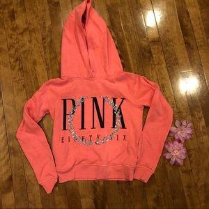 Pink Victoria secret sweat shirt